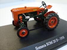 Universal Hobbies 1:43 Tracteur Soméca som 20d 6070 Nouveau neuf dans sa boîte