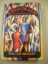 """A RED DEATH"" BY MOSLEY 1991 1ST ED INSCRIBED! SEQUEL TO ""DEVIL IN A BLUE DRESS"""