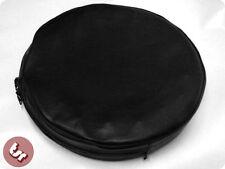 """Vespa/lambretta 10 """"rueda de repuesto cubierta Negro"""