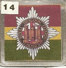 Acrylic Military Key Ring  Royal Dragoon Guards