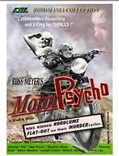 Russ Meyer's MOTOR PSYCHO (DVD) Rare UNCUT US edition