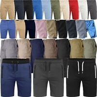 Mens Shorts Chino Jersey Cargo Combat Fleece Gym Short Big Sizes All Style Short