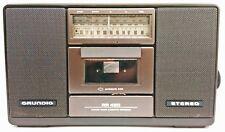 Grundig RR 450 Stereo Radio Kassettenrekorder RAR Vintage TOP ZUSTAND - WIE NEU