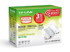 TP-LINK TL-WPA4220 KIT AV600 2-Port WiFi Powerline Extender