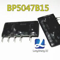 2pcs BP5047B15 AC/DC CONVERTER 15V 150MA 2W ZIP-5 Original and New