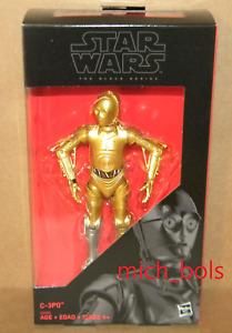 "C-3PO EXCLUSIVE Black Series 6"" Action Figure Star Wars Hasbro Disney A New Hope"