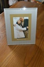 Hallmark 50 beautiful years photo frame , Picture size 4X6, 50th Anniversary NIP
