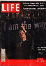1957 Life July 1 - Billy Graham; Poland Revolts; Chiang Kai-shek; Lucky Luciano