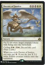 Magic The Gathering MTG Mystery Pack Card Decree of Justice
