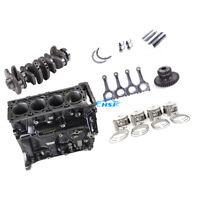 2.0T Engine Block & Crankshaft & Piston Kit Assembly Fit For VW Golf Jetta AUDI
