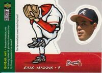 1998 Upper Deck Collector's Choice Mini Bobbing Heads #6 Greg Maddux