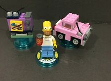 Lego Homer Simpson Simpsons Level Pack Dimensions