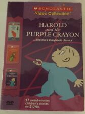 Harold and the Purple Crayon... and more storybook classics 3-Pack (DVDs, 2004)