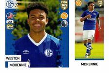 PANINI FIFA 365 2019 FIGURINA N. 198 WESTON McKENNIE (SHALKE 04) ROOKIE