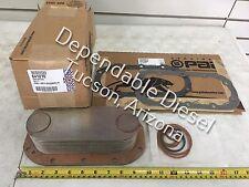 Oil Cooler w/Gasket Set for Detroit Series 60. PAI 641270 Ref# 23522416 52458196