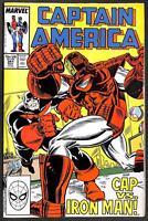 Captain America #341 1st Lemar Hoskins as Battlestar VFN