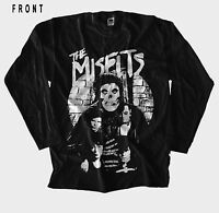 MISFITS-American punk rock band-Ramones-,T-shirt long sleeve-sizes:S to XXL