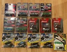 M2 Machines Fast Furious and Other 1/64 + Diecast Car Lot of 14