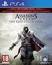 Assassins Creed la colección de Ezio para PlayStation PS4 trilogía & Dlc Nuevo