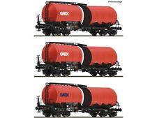 Roco 76088 Güterwagenset Knickkesselwagen GATX 3x H0
