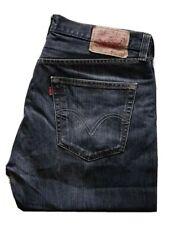 Vintage Levi's 501 Jeans Denim Lavado Negro W 36 L 30 cierre de botones A1 COND (6)