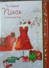 TO A SPECIAL NIECE CHRISTMAS CARD