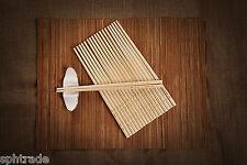 10 Pairs Chopsticks Classic Bamboo Wood Assorted Beautiful Prints Gift Set NEW
