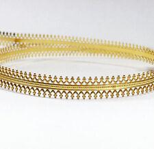 24 Inch (61cm)x 7.5mm Width Brass Strip Gallery Decorative Ribbon Pattern wire