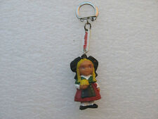 PORTE CLE ANCIEN : FROMAGE MARCILLAT RÉGION ALSACE VINTAGE FRENCH KEYCHAINS PC2