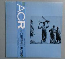 A Certain Ratio (ACR) Brazilia 12in vinyl single