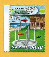 SAN MARINO - Scott 1858 - 2012 Milano Marittima - Mint - MNH - Fish