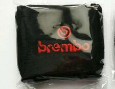 Polsino Moto Serbatoio Olio Freno Frizione logo Brembo Rosso Nero Piccolo