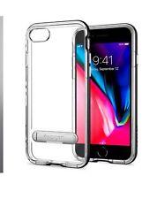iPhone 7 Plus Spigen Ultra Hybrid Black Clear Hybrid Shockproof Stand Case Cover