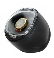 Time Tutelary Automatic Single Display Watch Winder Box KA003 BLACK AC Power UK