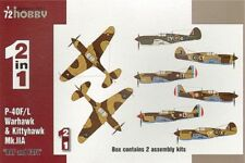SPECIAL HOBBY 1/72 P-40F/L & Kittyhawk Mk. IIA RAF - 2 en 1 # 72211