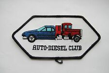 AUTO-DIESEL CLUB Embroidery Applique Patch
