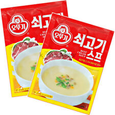 [[Ottogi] Beef Cream Soup Supplementary Meal Korean Food Dish 80 g × 2 packs