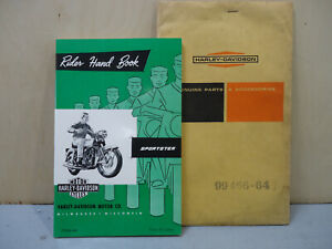 Harley Davidson NOS Sportster 1964 1965 Rider Hand Book Owners Manual 99466-64