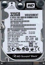 WD3200BEKT-22KA9T0 DCM: HACTJABB WXC1A Western Digital 320GB