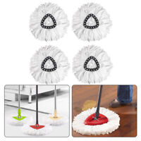 4X Replacement Microfiber Mop Head Easy Clean Wring Refill For O-Cedar Spin Mop