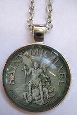 Halskette Sankt St. Michael Necklace  Heiliger Erzengel x