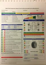 A+ Multi-Point Vehicle Inspection Form For Repair Shops •Qty 250, AP-FD-QC-O(P8)