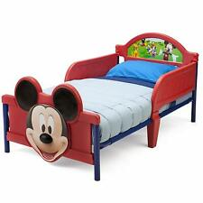 *Free Shipping * Mickey Mouse, Minnie Mouse Plastic 3D Toddler Bed