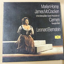 LP BISET Carmen / Bernstein/ Marilyn Horne James McCracken 3 LP set 2709043