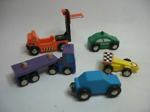 Wooden CARS TRUCK  LORRY ~ For Wooden Road Rail Track ~ SP12