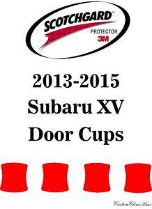 3M Scotchgard Paint Protection Film Clear Bra Pre-Cut Fits 2013 2015 Subaru XV