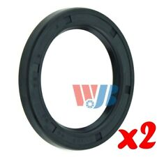 Pair of 2 WJB WS225230 Oil Seal Wheel Seal Cross 225230