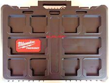 Milwaukee 48-22-8450 Packout Case W Foam Insert Fr 2804-20 2853-20 Drill, Impact