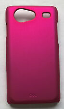 Case Mate Back Cover ClipOn für Samsung Galaxy S Advance pink Metalloptik