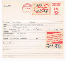 Solingen 1957 Walbusch bringt besonderes  AFS Archivkarte Unikat
